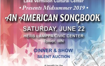 The Lake Vermilion Cultural Center Announces Details for 2019 Midsummer Gala